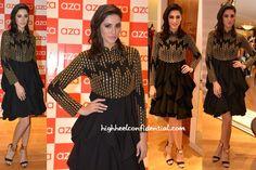 Nargis Fakhri In Malini Ramani And Varun Bahl At Aza Store Launch