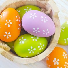 Colorful #Easter #eggs