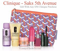 Clinique GWP at Saks.com - enter promotional code CLINIQ96 at checkout.  http://clinique-bonus.com/other-us-stores/