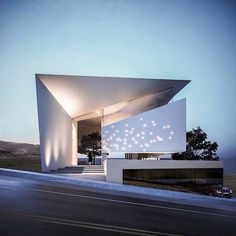 Modern architecture design - architecture A Country Getaway Exposed in a Contemporary Design Modern Architecture Design, Facade Design, Facade Architecture, Modern House Design, Exterior Design, Contemporary Design, Minimalist Architecture, Villa Design, Design Design