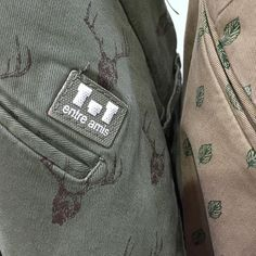 """Ready for dye cotton label made by Panama Trimmings for """"Entre Amis"""" #pittiuomo…"""