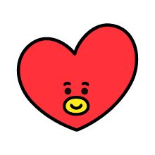 UNIVERSTAR is now available as LINE Emoji. Spice up your chat with UNIVERSTAR Must-have Emoji! Bts Chibi, Bts Drawings, Kawaii Drawings, V Wings, Kpop Diy, Bts Birthdays, Kawaii Doodles, Tumblr Stickers, Line Friends