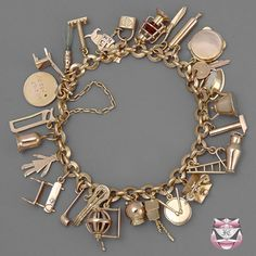 LOVE Charm Bracelets my mom Always wore one. I now have hers in a very special place in my house since she passed away!
