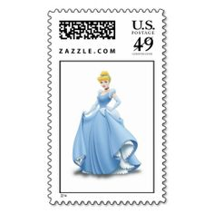 Cinderella Cinderella in blue dress Stamps. This is customizable to put a personal touch on your mail. Add your photos or text to design your own stamp that can be sent through standard U. Just click the image to try it out! Girly Drawings, Tumblr Stickers, Special Delivery, Self Inking Stamps, Design Your Own, Postage Stamps, Blue Dresses, Cinderella, Disney Characters