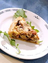 Quiche met Meelwormen / Quiche with Mealworms