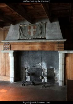 Fireplaces And Castles On Pinterest