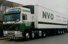 Volvo F 12 III 4x2 globetrotter met koeloplegger van Lokken-Vosdingh uit Gieten
