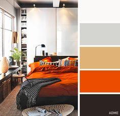 20 perfect color sebination in bedroom interior - @ciemoddustse197