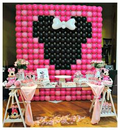 Minnie Mouse Birthday Party Ideas | Photo 1 of 37 | Catch My Party