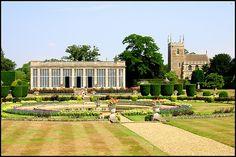 Belton House garden. England