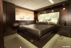 #destiny #elbayacht #yacht #luxurylife #sea #render #rendering #3d #Interior #Interiordesign #sea #masterbedroom #naval #rendermediasolutions #bettersales #miami