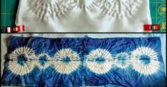 Hi..it is Marsha from coolquilting again...with a shorter post than last week!! So, if you want more detailed info on the stitching and dye...