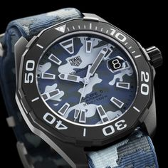 61fe3863291 Tag Heuer is giving fans of military camouflage style something to think  about this year at BaselWorld