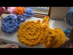 Arm Crochet with Merino Wool Tutorial
