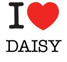I Heart Daisy #love #heart