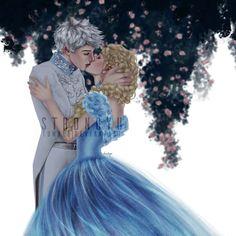 Jelsa Cinderella AU by strongyu on DeviantArt