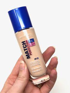 Rimmel Match Perfection, Personal Care, Bottle, Beauty, Self Care, Personal Hygiene, Flask, Beauty Illustration, Jars