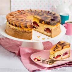 Pflaumen-Topfen-Torte Tiramisu, Cheesecake, Pie, Ethnic Recipes, Desserts, Food, Oven, Dessert Ideas, Cooking Recipes