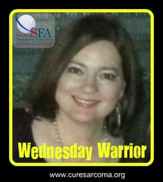 """""""This experience has made me stronger and I am grateful for every single day in my life."""" - Kimberly, Sarcoma Foundation of America Wednesday Warrior  http://curesarcomablog.org/2014/05/21/wednesday-warrior-kimberly/  #sarcoma #inspiration #WednesdayWarrior"""