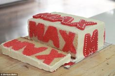 This hidden name cake is fantastic if the birthday boy's name is Max, less so if he's called Geronimo