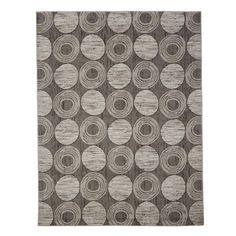 zipcode design gray circles area rug u reviews wayfair