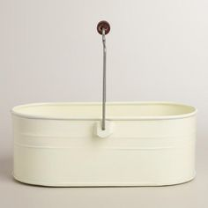 One of my favorite discoveries at WorldMarket.com: Ivory Housekeeping Utility Bucket