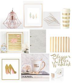 My Blogger Office Wishlist
