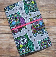 Fabric Traveler's Notebook Art Journal Fauxdori Folidori - pinned by pin4etsy.com