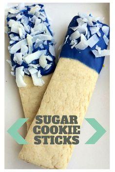 Found at the #sundaysdownunder linky party: Sugar Cookie Sticks via @playdopopsicles