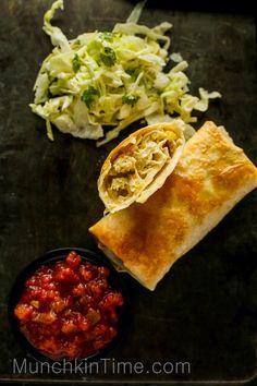 Easy 30-Minute Chicken Chimichanga Recipe