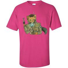 Steampunk Space Pirate Fox T-Shirt