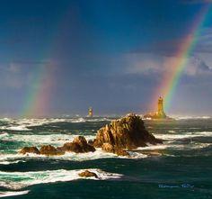 Double Rainbow  Image Credit : Ronan Follic photography  http://500px.com/photo/30647971 —   >>  Milky Way Scientists