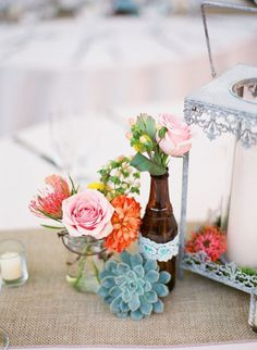 love this for a casual summer wedding // Photo by Leila Brewster