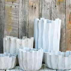 www.pottedstore.com - Driftwood Planter in Cast Stone Pots