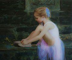 Mark Lovett painting