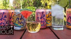 Cocktails made w/ LaCroix