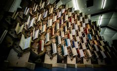 Faith is Torment | Art and Design Blog: Book Hive: An Interactive Installation by Rusty Squid