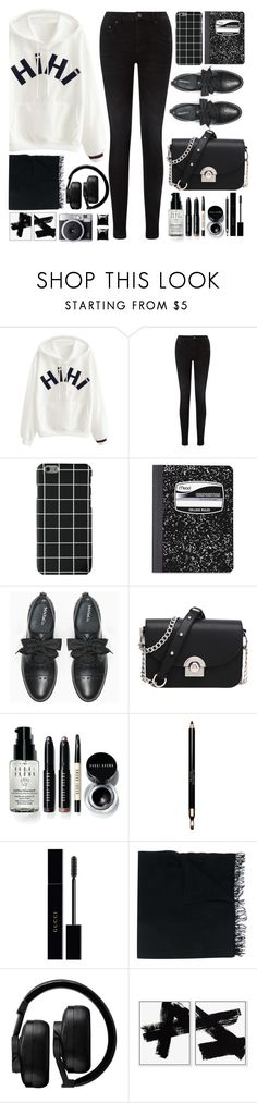 """One more light"" by deeyanago ❤ liked on Polyvore featuring Pieces, Mead, Max&Co., Bobbi Brown Cosmetics, Clarins, Gucci, Faliero Sarti, Master & Dynamic and Witchery"