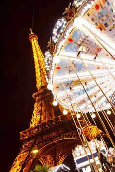 Eiffel Tower Carousel, Paris, France