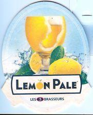 Sous Bock de Bière , Beer , Birra ( Brasserie ) : Les 3 Brasseurs - LEMON PALE !