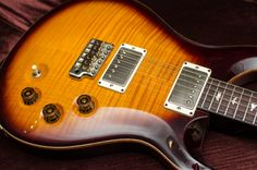 PRS David Grissom Trem, Maple 10 Top, Rosewood Fretboard with Bird Inlays, Black Gold Burst http://ow.ly/S6uF0