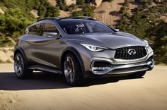 2017 Infiniti QX30 crossover, which is a five-door crossover SUV, deliberately copies the Q30 show sedan...release date is expected to be during the last...
