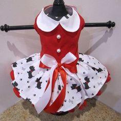 Scotties Dog Dress