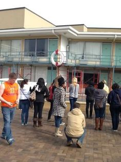 Lorraine Motel, Memphis TN - National Civil Rights Museum, where Martin Luther King was shot.
