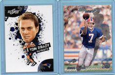 Tom Brady 2010 Score NFL Players / Doug Flutie 200 Topps Stars Lot Patriots #NewEnglandPatriots