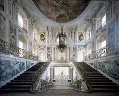 Schloss Augustusburg in Brühl . One of the most important baroque buildings, UNESCO world heritage site