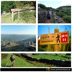 Portugal fits with hiking and cycling. You will discover the Portuguese heritage and culture while you travel over breathtaking and unique places.