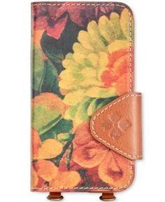 Patricia Nash Zeno Samsung S7 Crossbody Phone Case - Heritage Multi Print