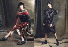 Rebel Yell (American Vogue) Steven Meisel - Photographer Grace Coddington - Fashion Editor/Stylist