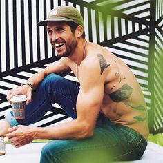 There's an Instagram account fully dedicated to hot men and coffee. Read now. Thank us later.